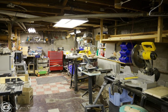 Peter's workshop